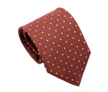PATINE Tie Printed Silk SQUARE 1 Marron