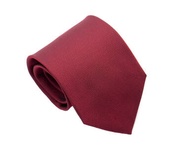 PATINE Tie Solid Silk Hermes Red