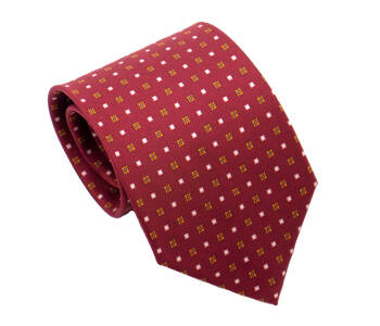 PATINE Tie Printed Silk SQUARE 1 Hermes Red