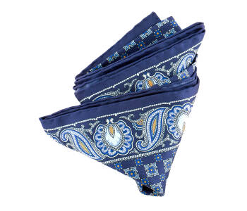 Pocket Square Twill PAT20714 King Navy-1