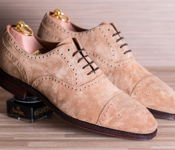 Brogues 435 Suede Tabacco