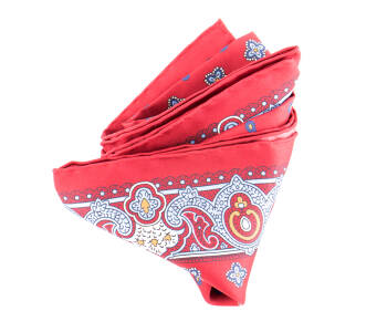 Pocket Square Twill PAT20713 Cardinal