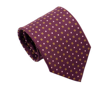 PATINE Tie Printed Silk SQUARE 1 Lavande