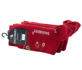 DAGOBERT Men Socks SCOOTER Rouge