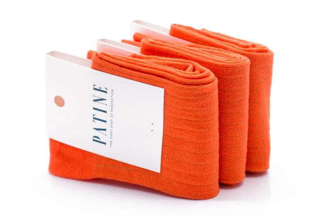 PATINE Socks PASH01 Orange